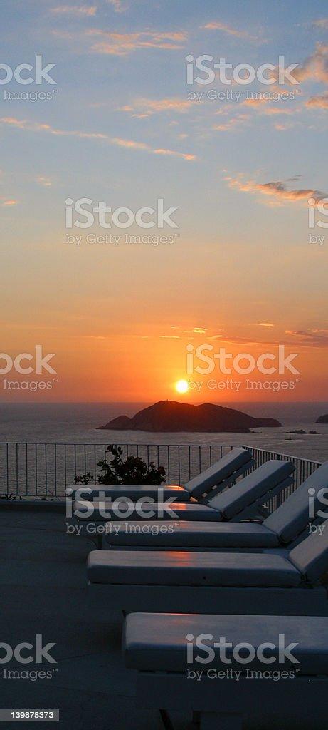 Acapulco Sun royalty-free stock photo