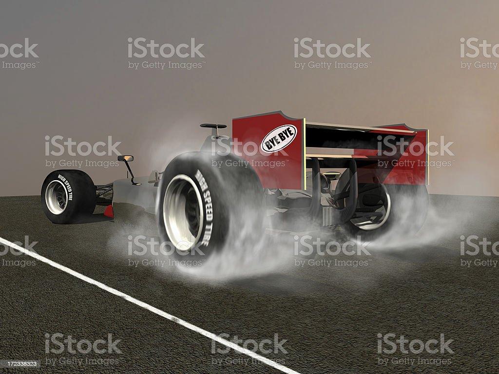 Accelerating stock photo