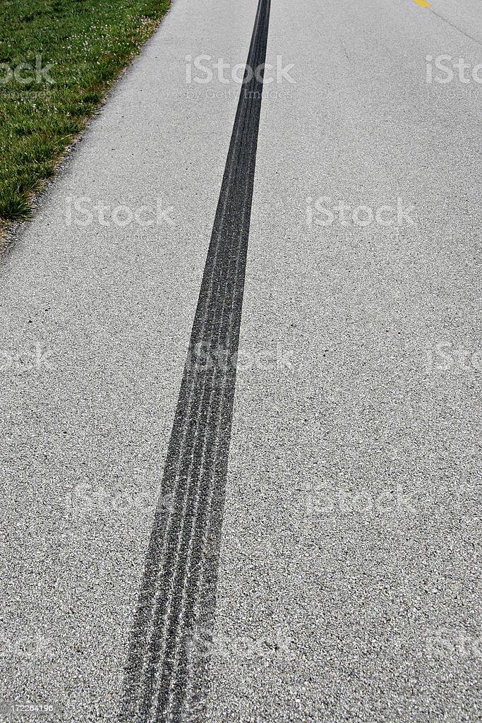 Acceleration mark stock photo