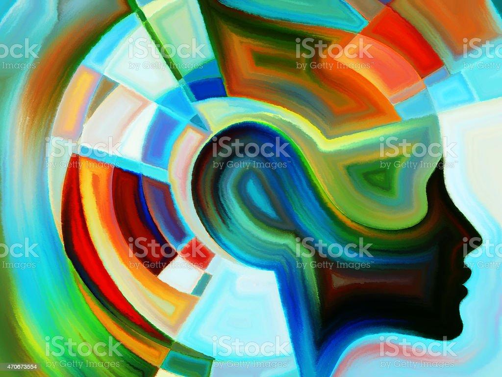 Acceleration of Inner Geometry stock photo