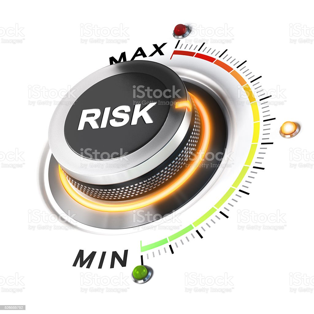 Acceptable Level of Risk stock photo