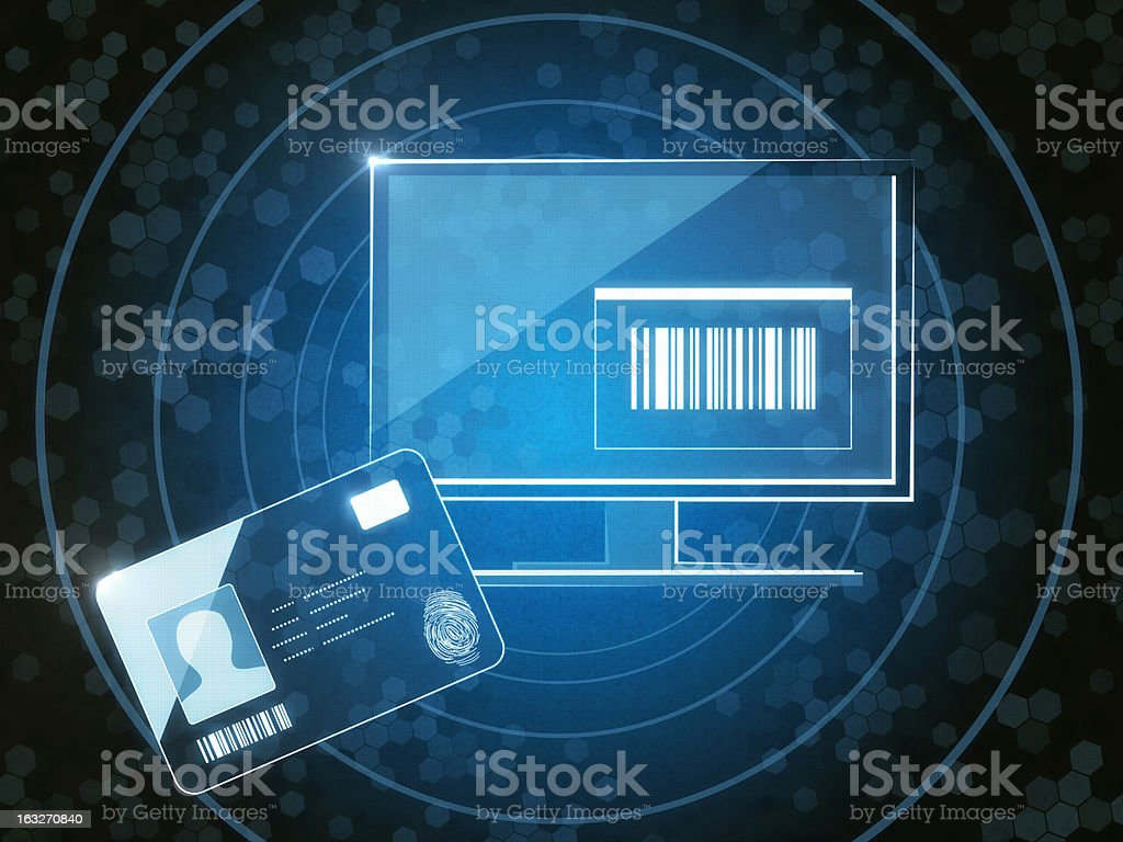 Access Card stock photo