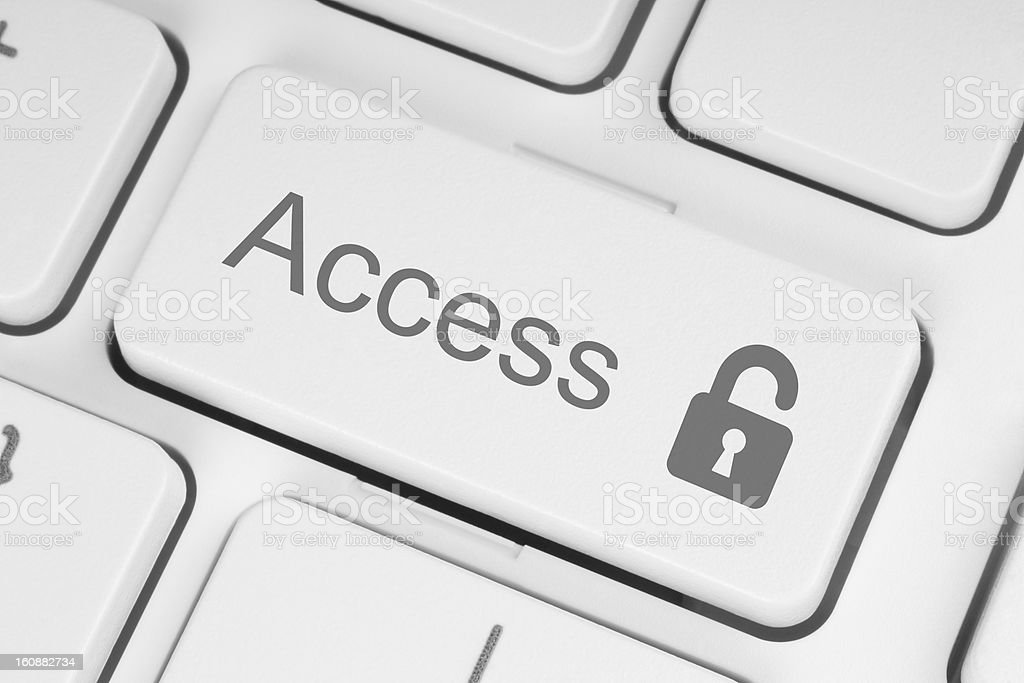 Access concept royalty-free stock photo