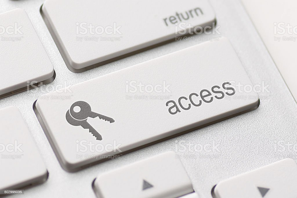 access enter key stock photo