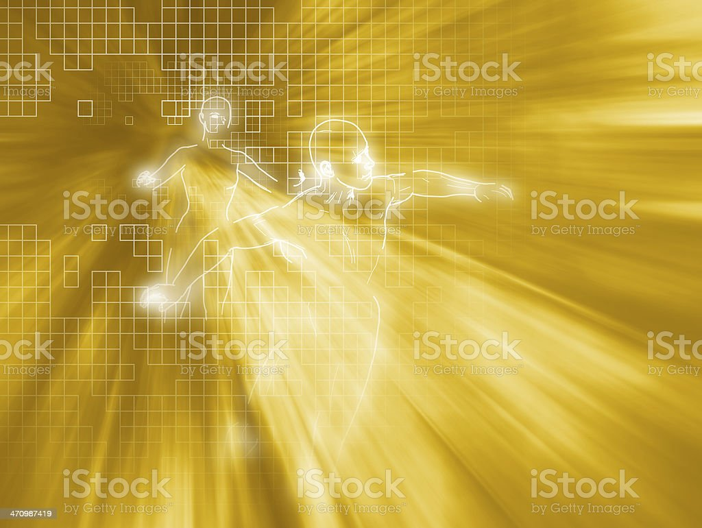 Access goldrush 01 stock photo
