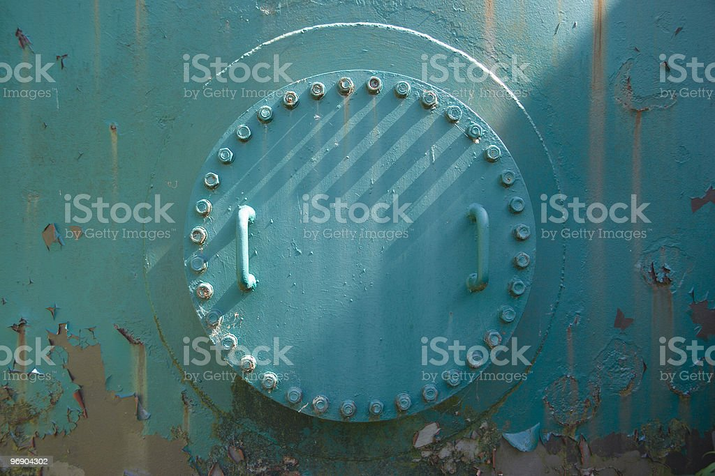 access hatch royalty-free stock photo