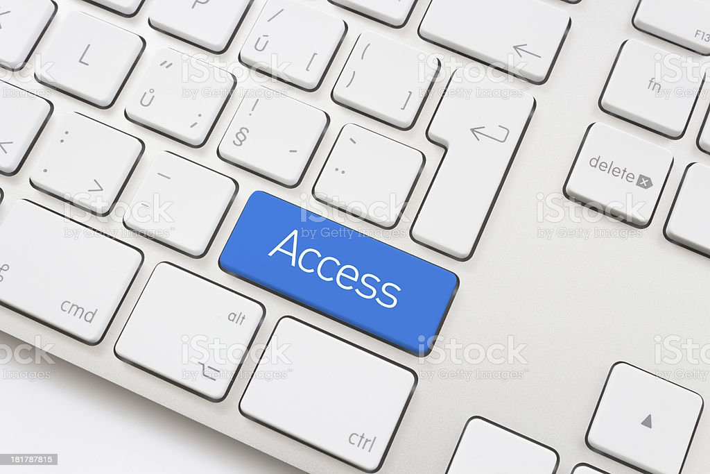 Access key stock photo