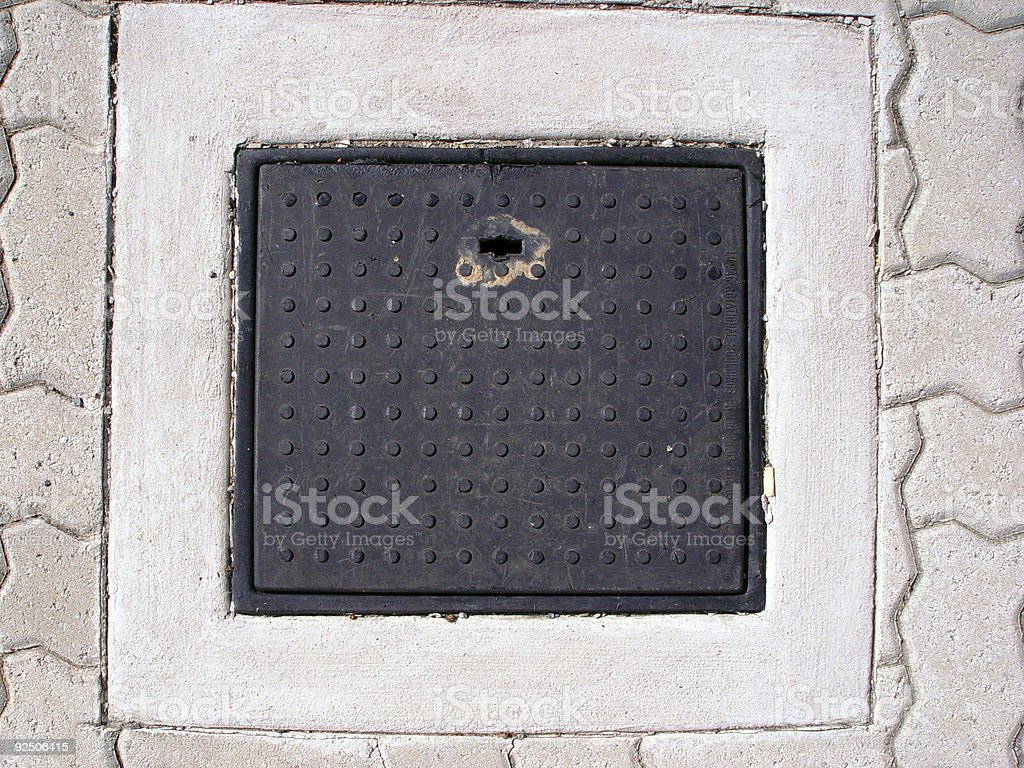 Access plate royalty-free stock photo