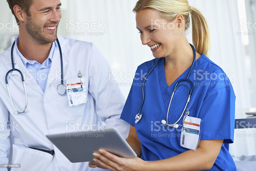 Access to medical information on a global scale royalty-free stock photo