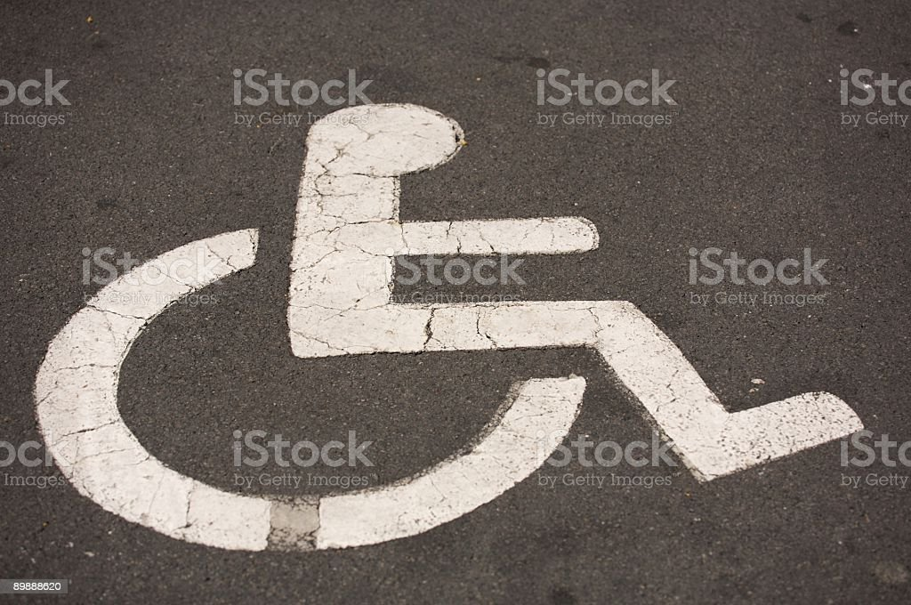 accessibility symbol royalty-free stock photo