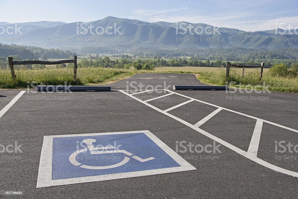 Accessible Outdoors royalty-free stock photo
