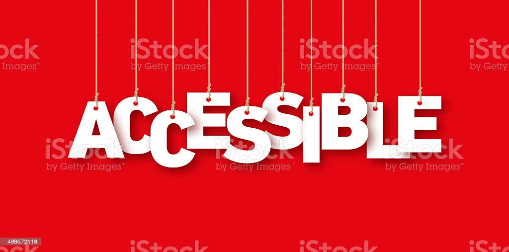 Accessible stock photo