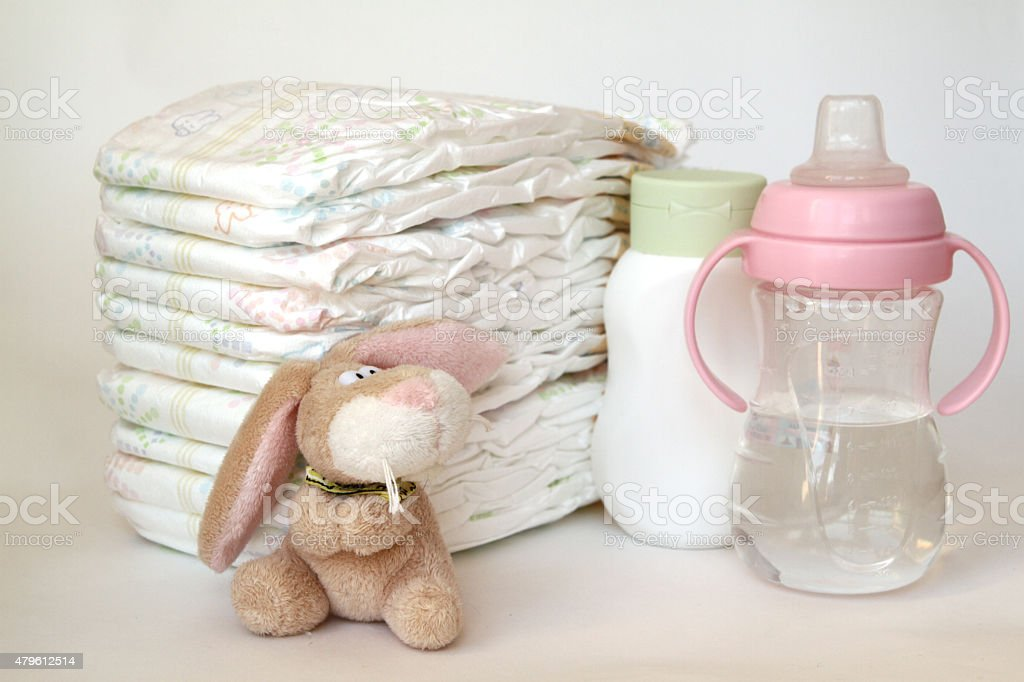 accessories for baby stock photo