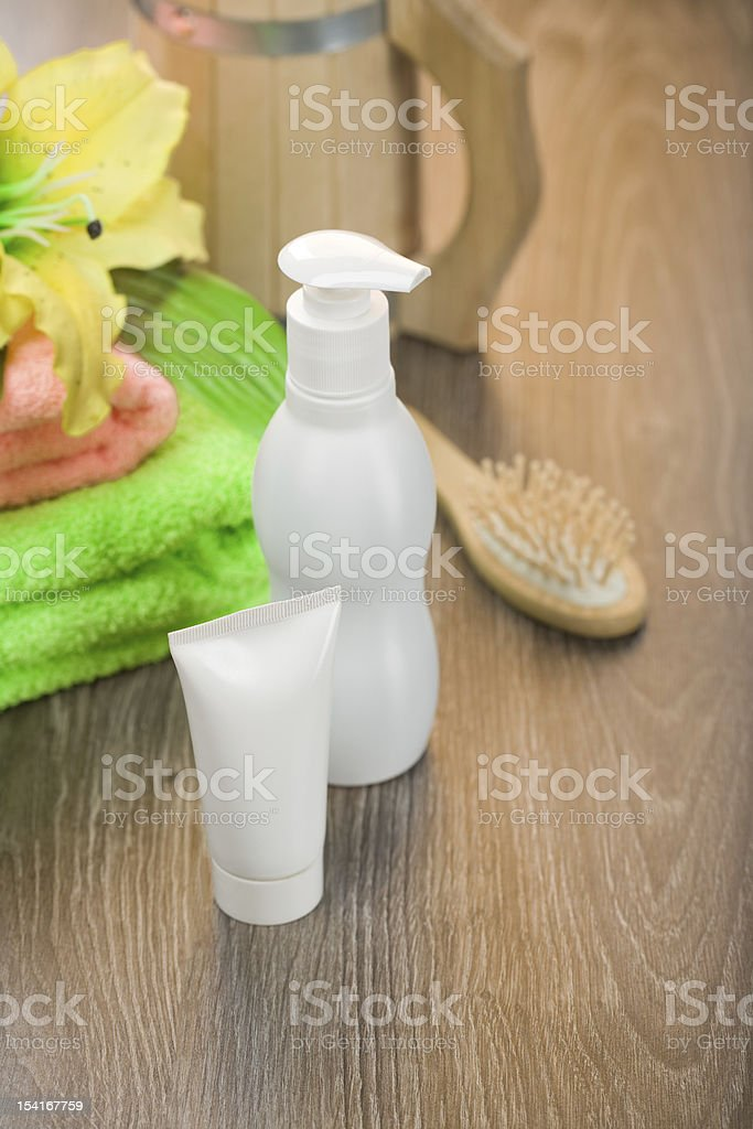 accessories for bathing royalty-free stock photo