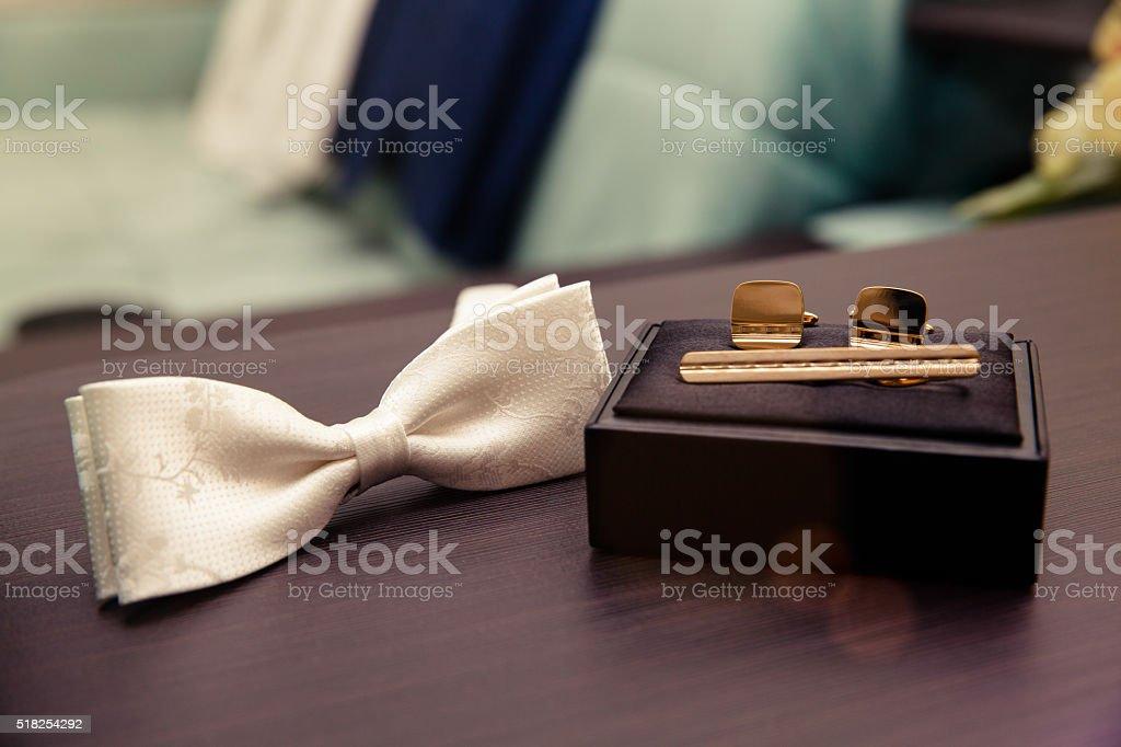 accessories for men stock photo