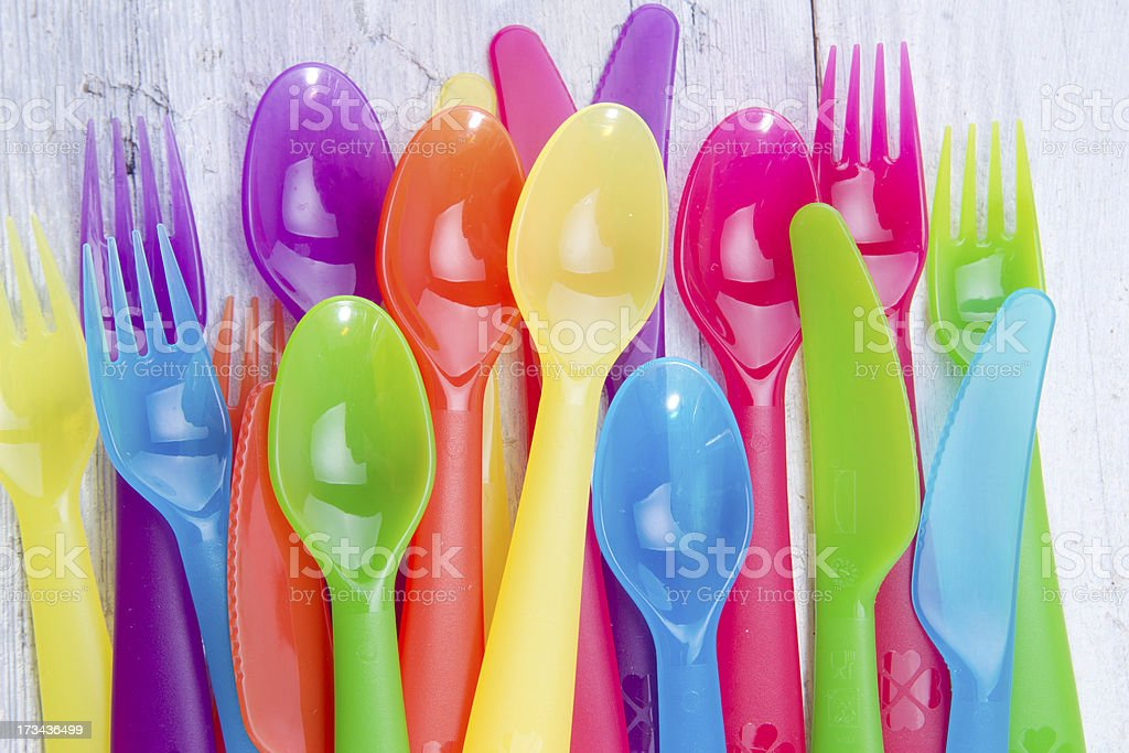 Accessories For Outdoor Dining Royalty Free Stock Photo