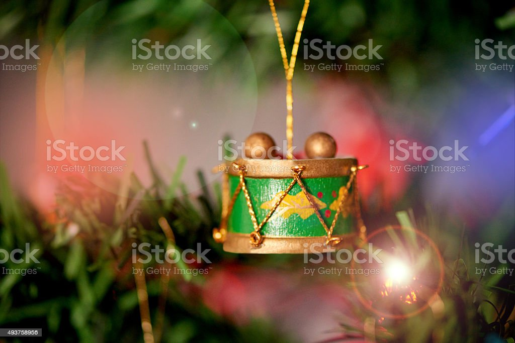 Accessories for your festive foliage stock photo