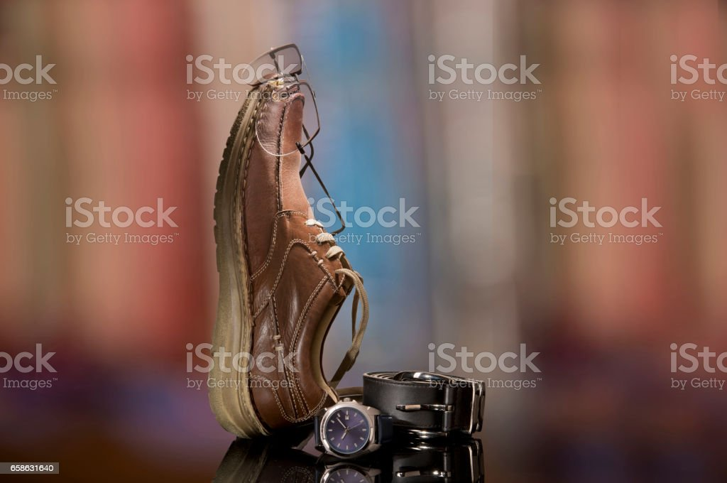Accessories to make a business person happy stock photo