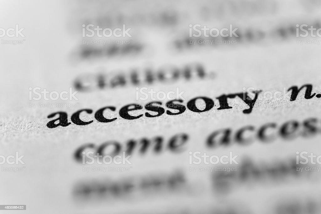 Accessory stock photo