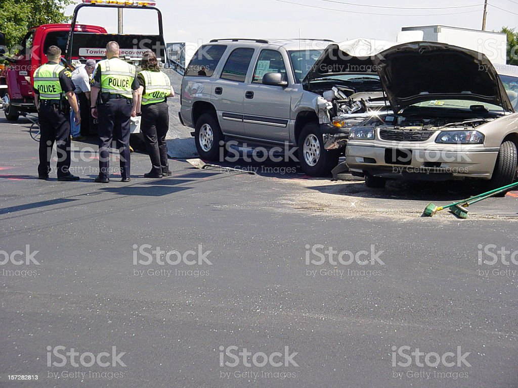 Accident 1 royalty-free stock photo