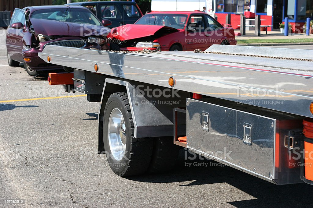 Accident 4 royalty-free stock photo