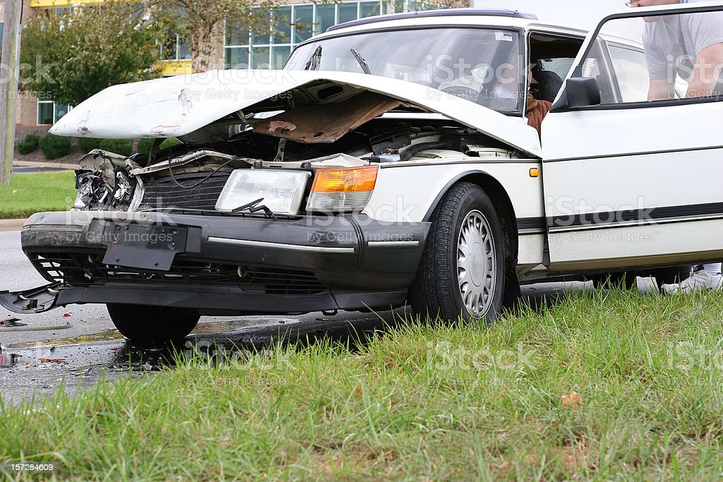 Accident 9 royalty-free stock photo