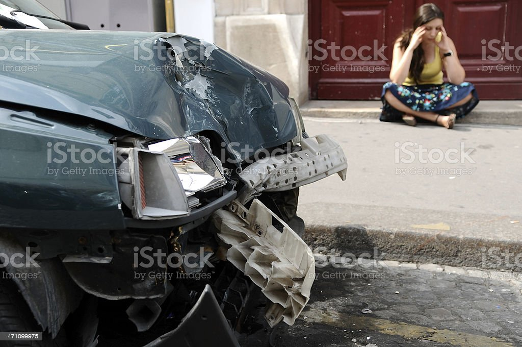accident and crash series royalty-free stock photo