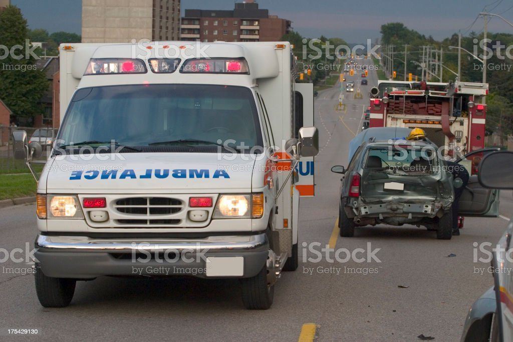 Accident Car Crash royalty-free stock photo