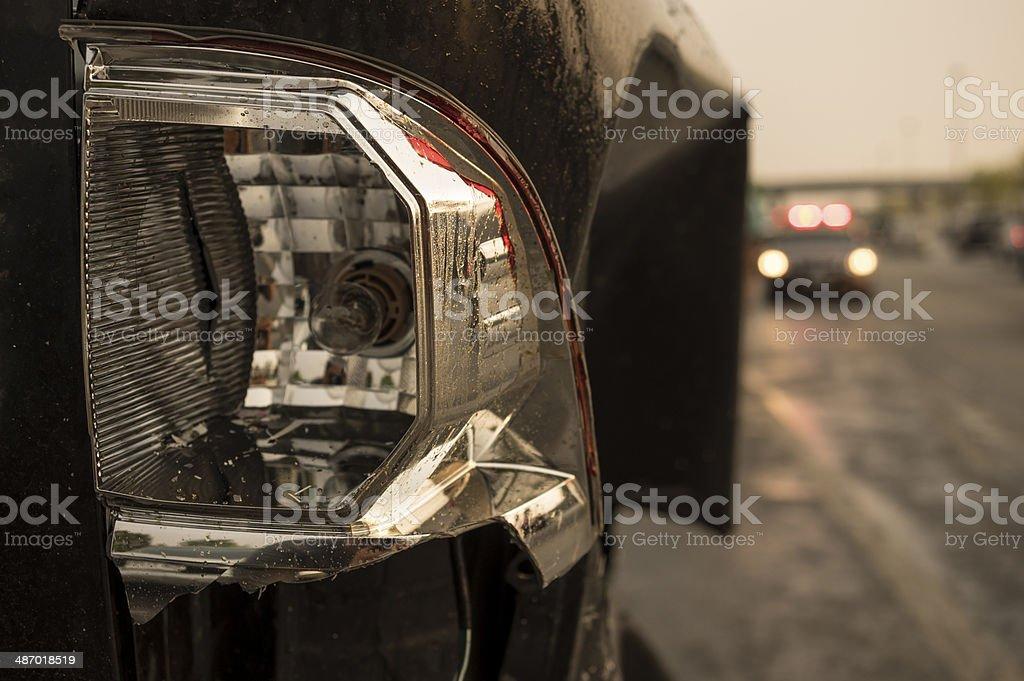 Unfall auf der Straße 2 Lizenzfreies stock-foto