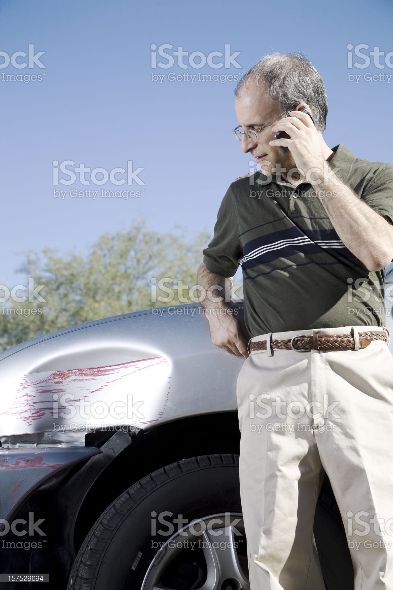Accident royalty-free stock photo