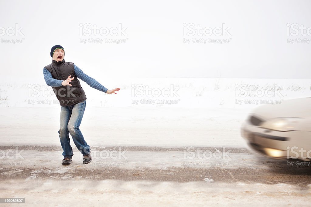 Accident. royalty-free stock photo