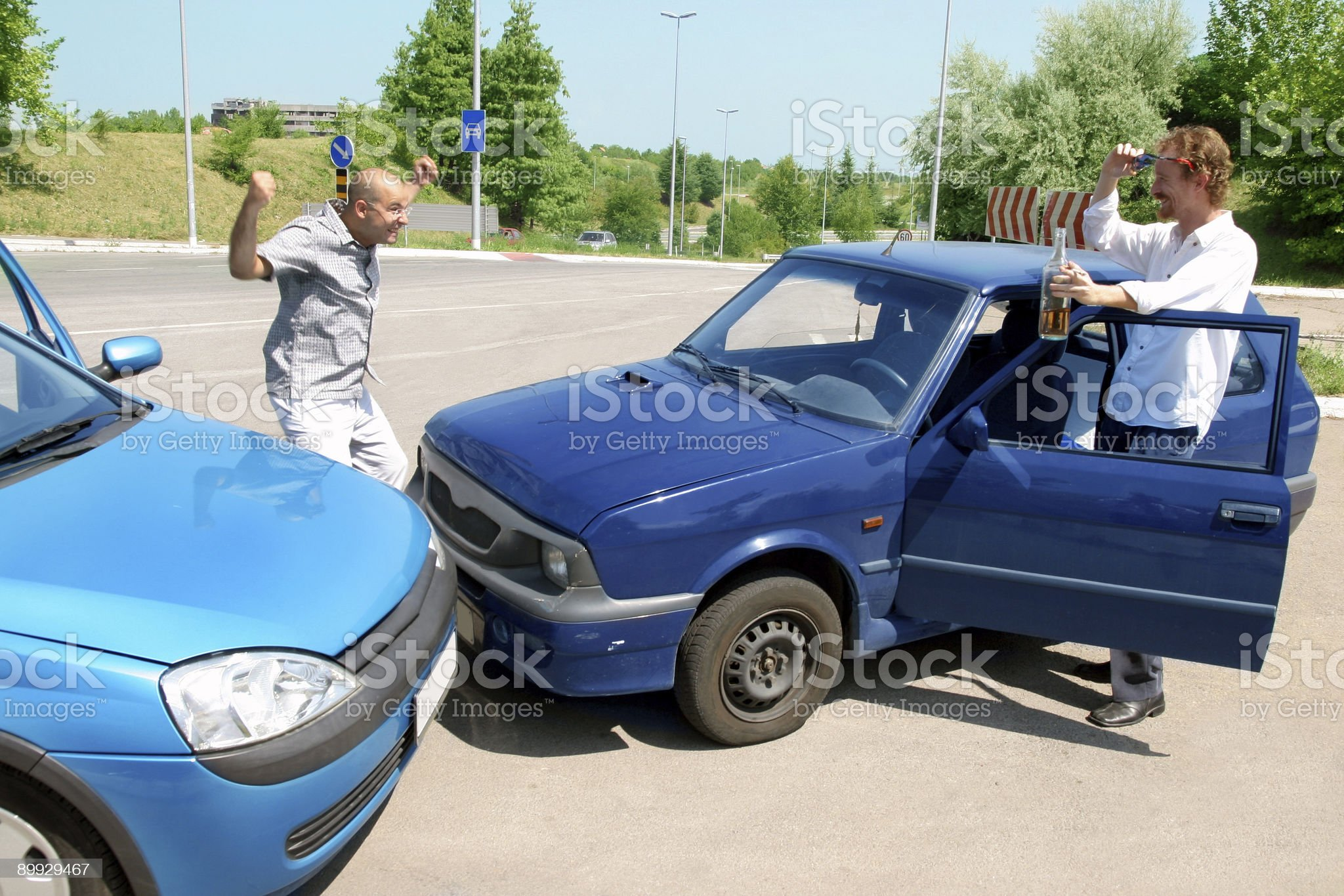 accident two cars royalty-free stock photo