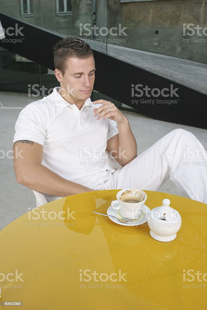Accident with sugar royalty-free stock photo