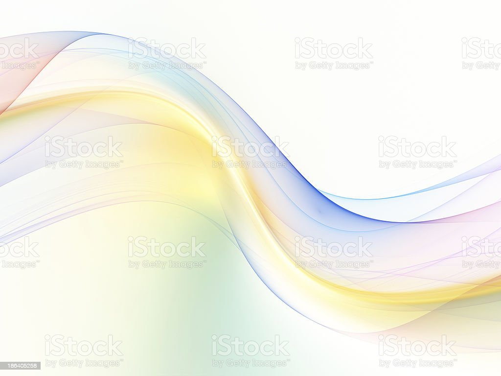 Accidental Fractal Waves royalty-free stock photo