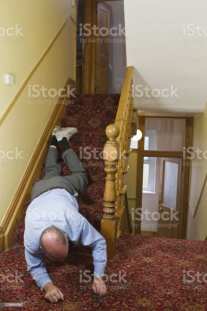 Accidents In The Home royalty-free stock photo