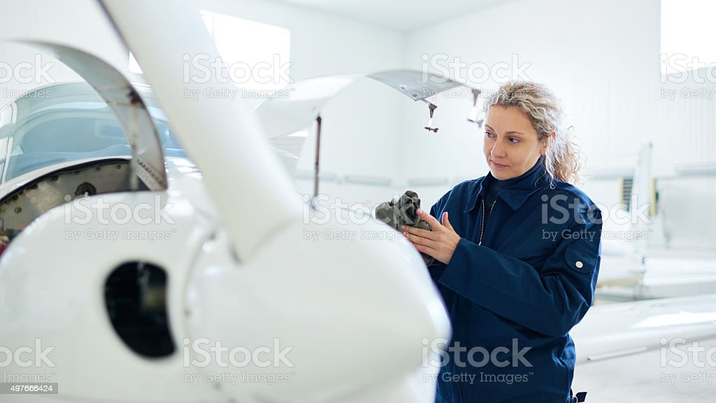 Accomplished work stock photo