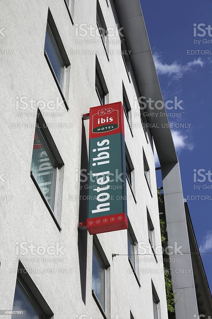 Accor - Hotel Ibis stock photo