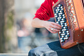 Accordion in the street
