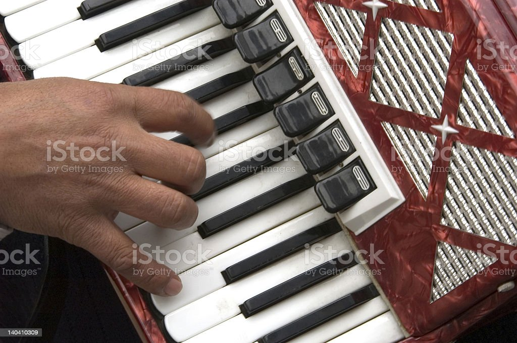 accordion stock photo