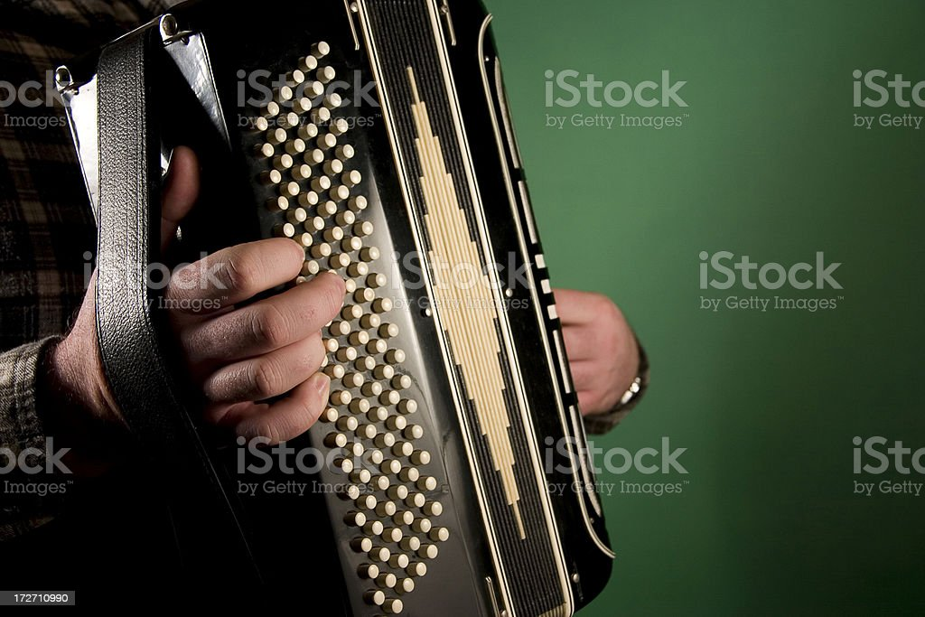 Accordion stock photo
