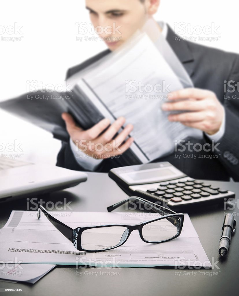 Account manager stock photo