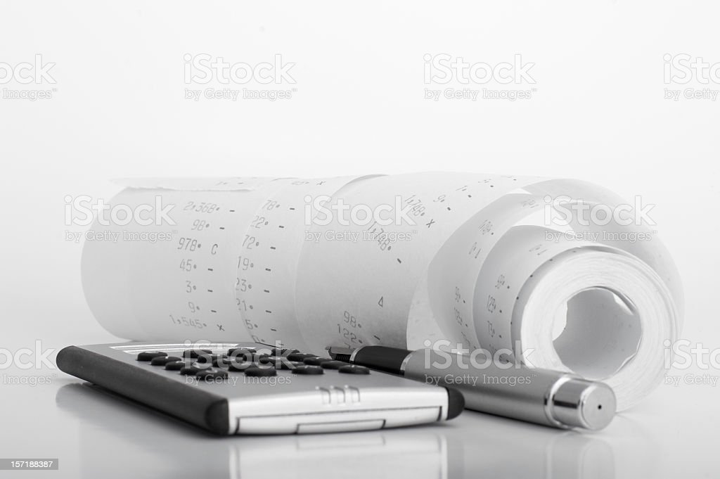 Account royalty-free stock photo