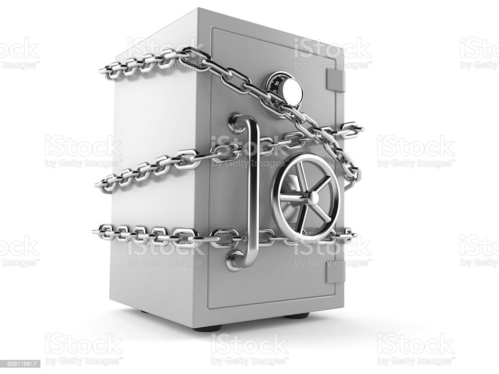 Account protection royalty-free stock photo