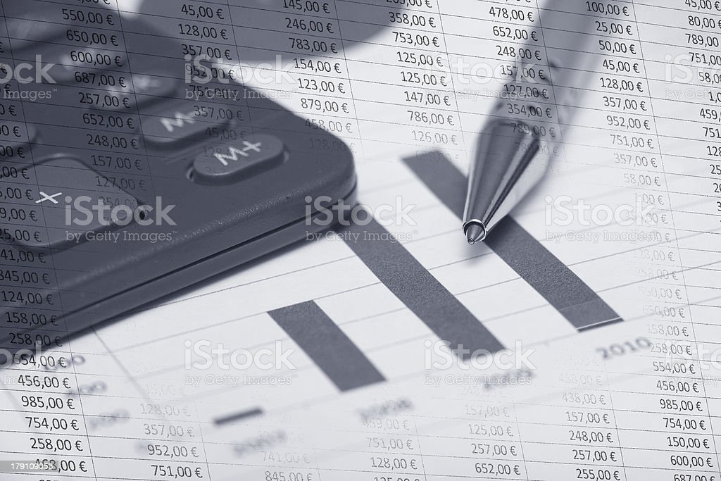 Accountancy stock photo