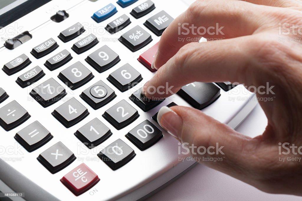 Accountant stock photo