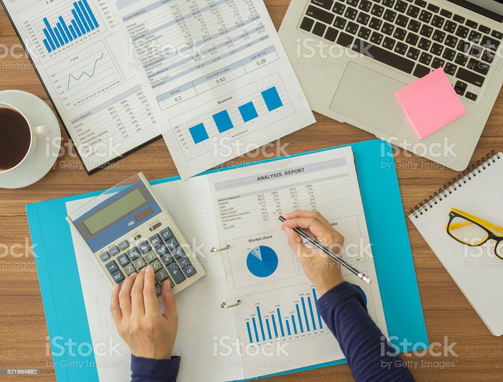 accountant stock photo