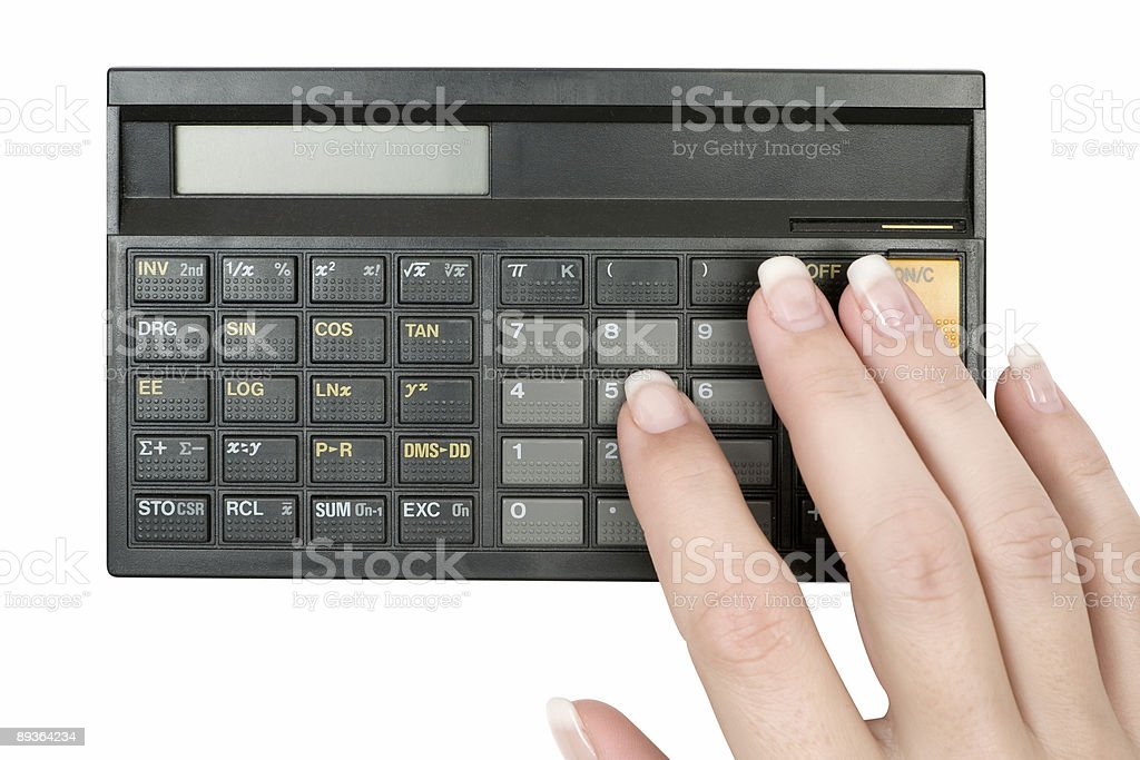 Accountant royalty-free stock photo