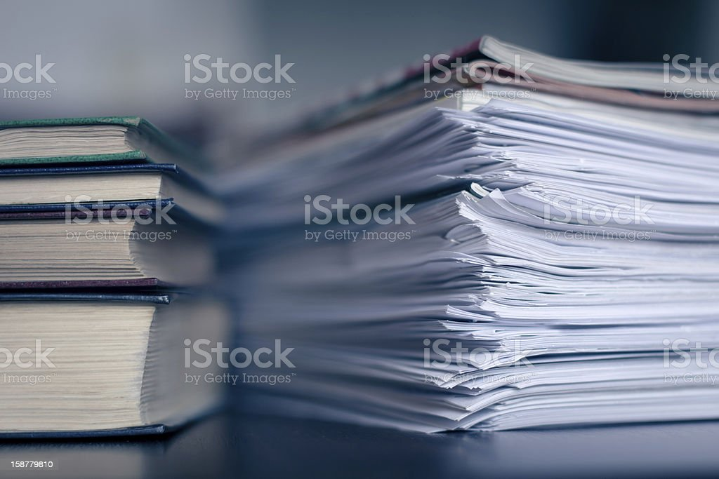 Accounting and taxes royalty-free stock photo