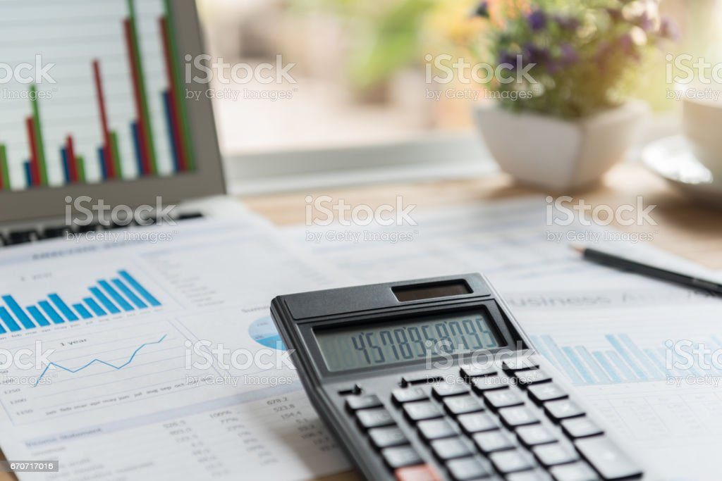 accounting business stock photo