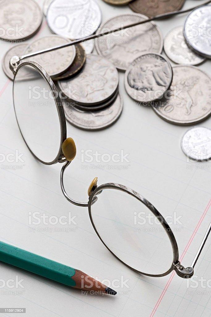 accounting royalty-free stock photo
